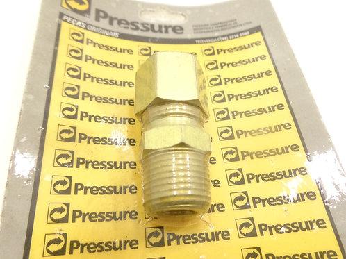 União Latão 1/2 X 3/8 / Compressor Pressure - 62671