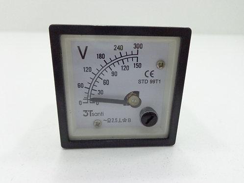 VOLTIMETRO (BUFFALO)/ GERADOR DIESEL BFDE-2500/BFDE-6500 - 61160