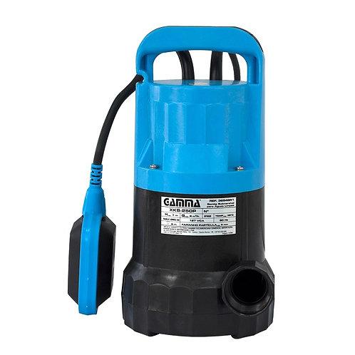 Bomba de Agua Submersível 250W P/ Agua Limpa Gamma - 12654
