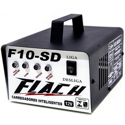 Carregador Inteligente 10A de Bateria (Bivolt) FLACH F10SD - 09548