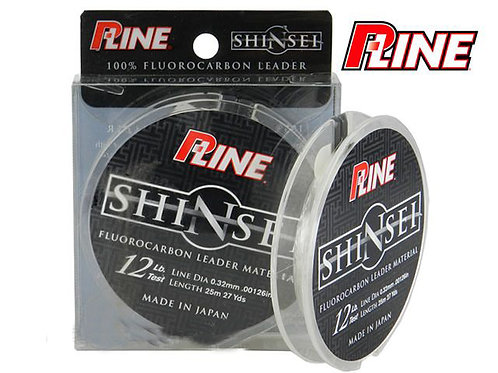 Linha Fluorocarbono P-line Shinsei Leader 0,21mm 6lb 25m-00305