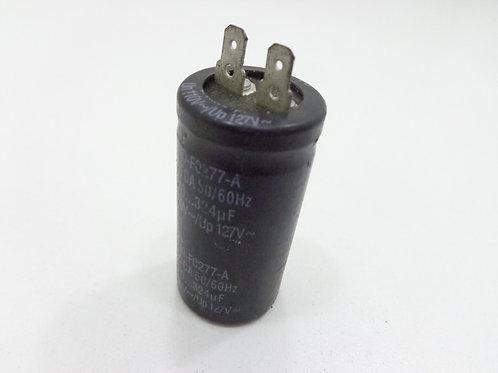 CAPACITOR 270-324 UF 110V-127V / MOTORES DE INDUÇÃO  (MINI) (2 TERMINAIS) - 5584