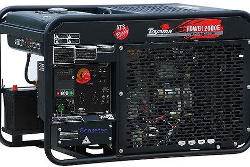 Gerador Diesel Toyama TDWG12000E