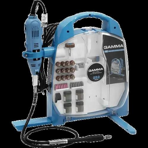 Micro Retifica Elétrica Gamma 252 Pçs ( G19502/BR1 ) - 10459