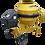 Thumbnail: BETONEIRA CSM STARK 400L MONO 220V - 15728