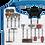 Thumbnail: Kit Micro Retífica Gamma 180 PCS - 09055