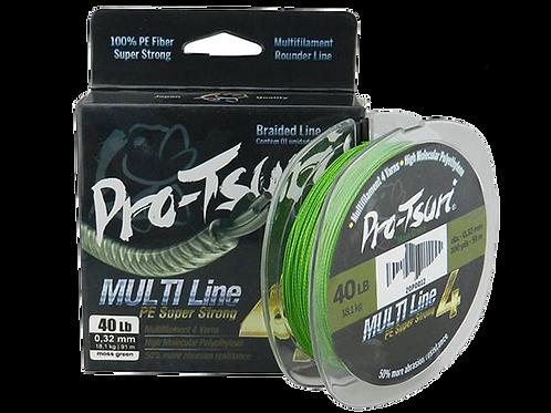 Linha Pro-tsuri Multifilamento 4 Fios 80lbs 0.45mm -00326
