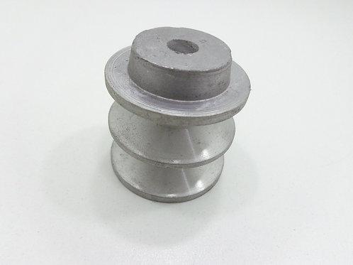 Polia De Aluminio 50 Mm 2b / Polia Para 2 Correias - 62805