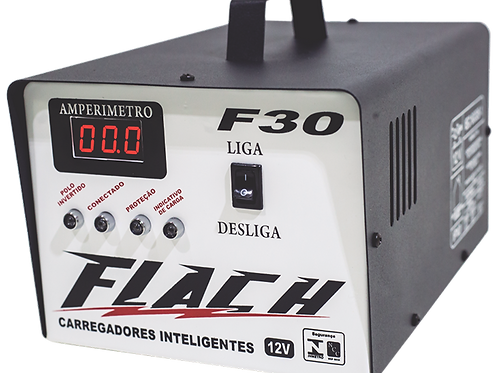 Carregador Inteligente de Bateria (Bivolt) FLACH F30 -10212