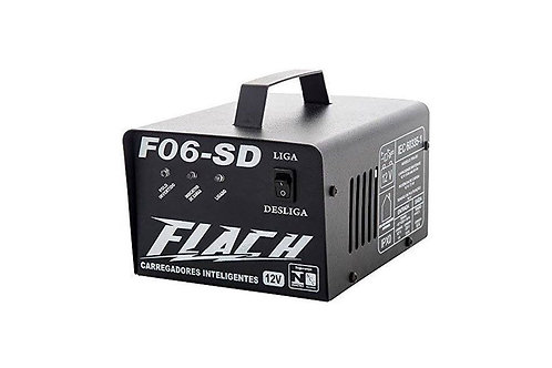 Carregador Inteligente de Bateria (Bivolt) FLACH F06SD -09547
