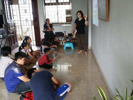 Evangelism to Children via Holiday Children's Meetings