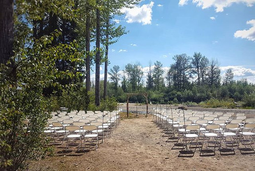 A beautiful day for a wedding and our co