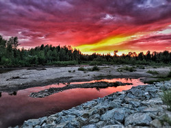 salmon valley sunsets
