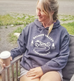 Salmon Valley Campground hoodie