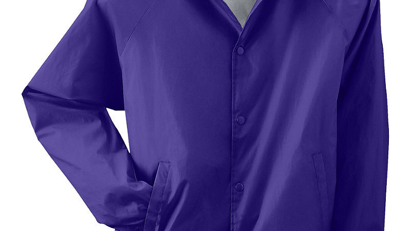 Purple Windbreaker