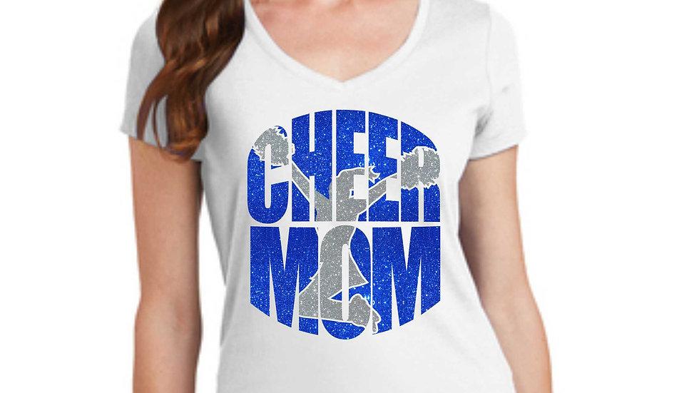 Cheer Mom V-Necks