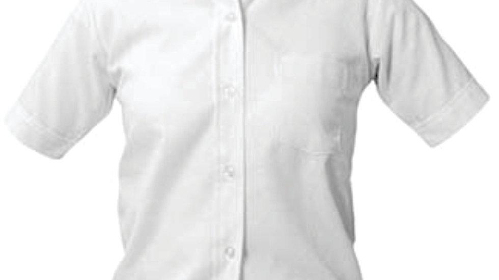 Boys White Oxford (No Logo)