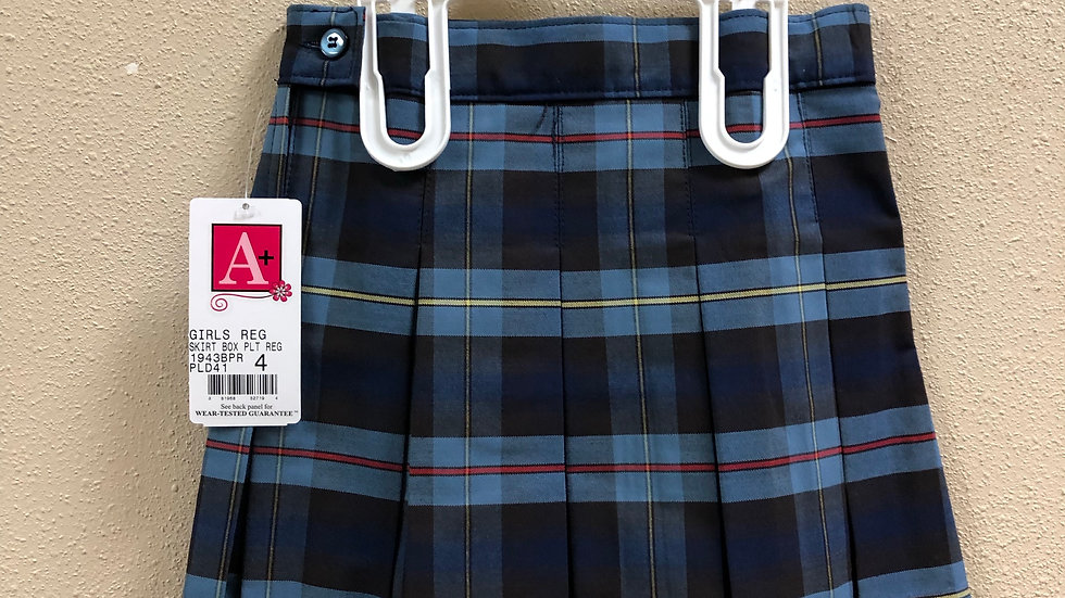 Plaid 41 Skirt