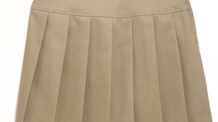 Knife Pleat Drop Waist Skirt (K-12)