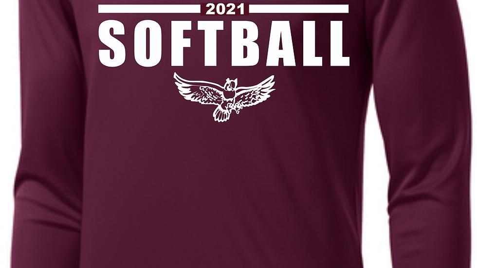 CHS Softball Long Sleeve Drifit