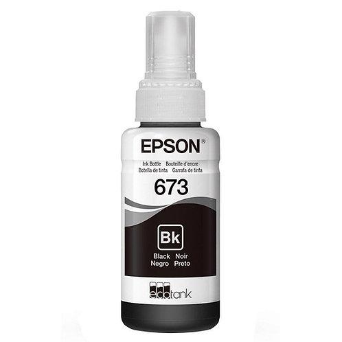Garrafa de Tinta Original Epson EcoTank 673 Preto - T673120