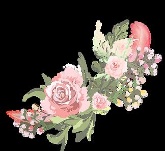 —Pngtree—watercolor pink flowers sen dep