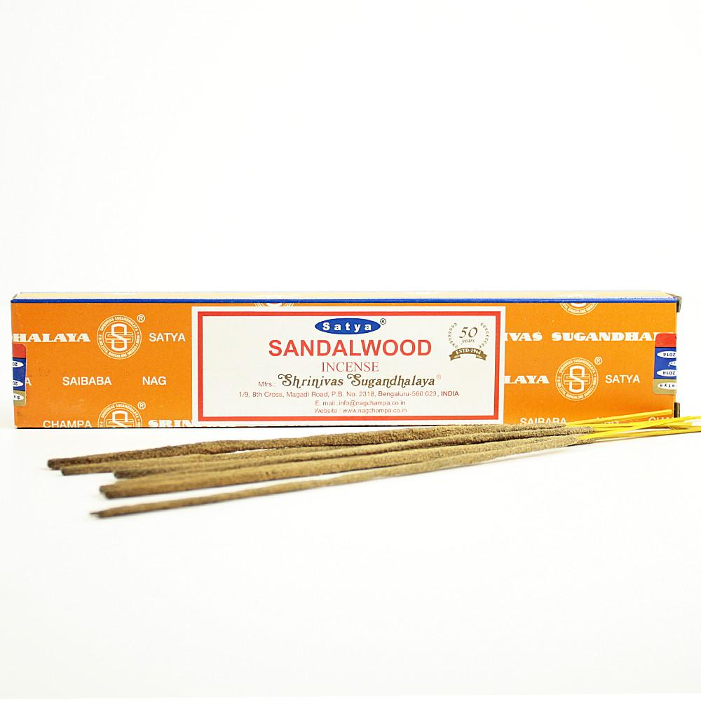 Satya Sandalwood Incense Sticks