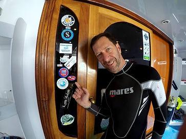 Ricardo Carrio en el Mar Rojo