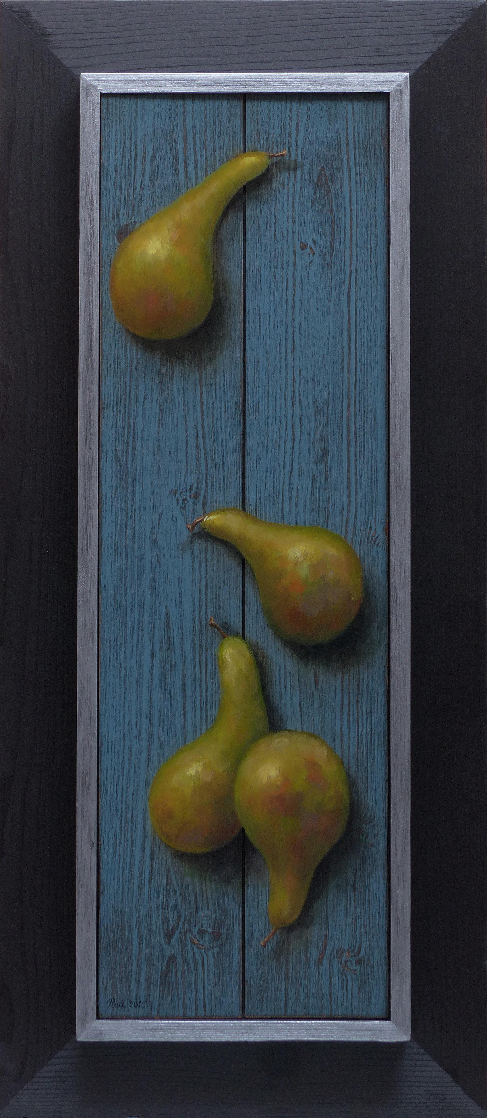 295. Vier peren.      (17,5 x 56 cm)