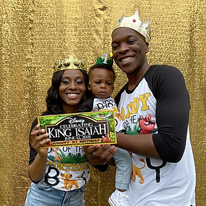 Isaiah's 1st Birthday!