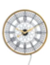 Large Gold Framed Backlit wall clock.jpg