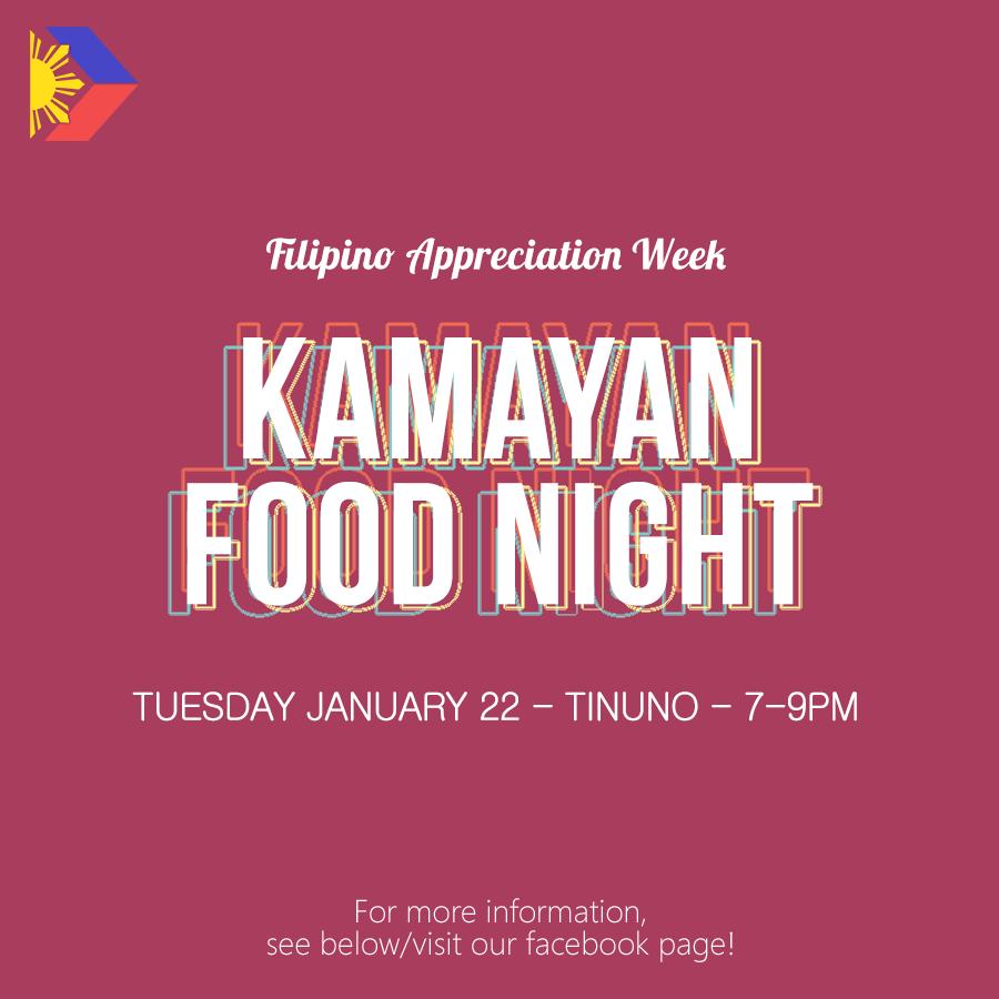 FAW: Kamayan Food Night