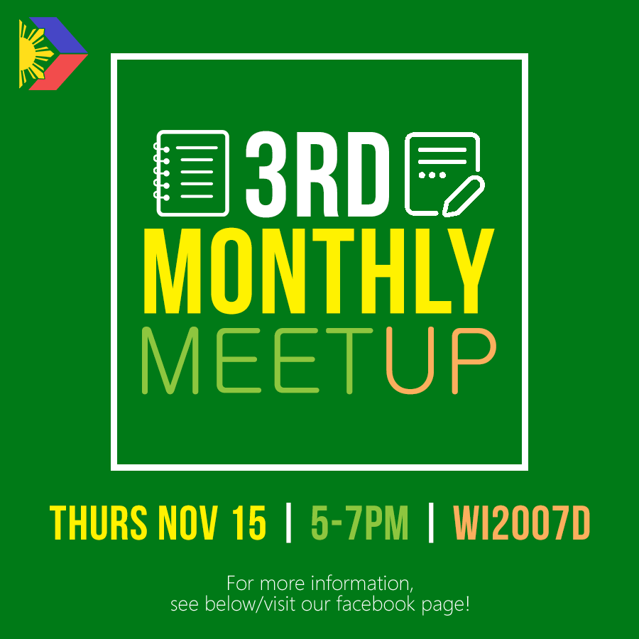 Third Monthly Meetup