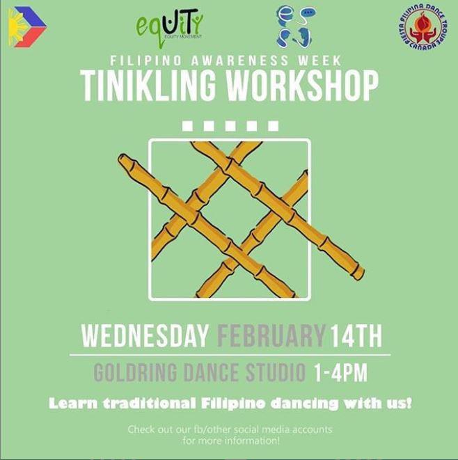 FAW: Tinikling Workshop