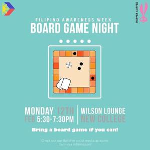 FAW: Board Game Night