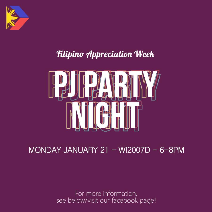 FAW: PJ Party Night