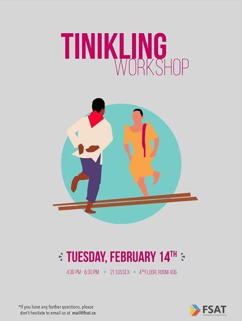 Tinikling Workshop
