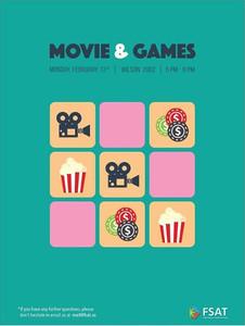 Movie & Games Night