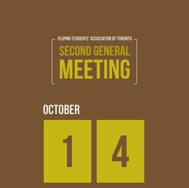 Second General Meeting