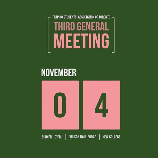 Third General Meeting