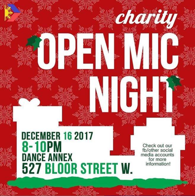 Charity Open Mic Night