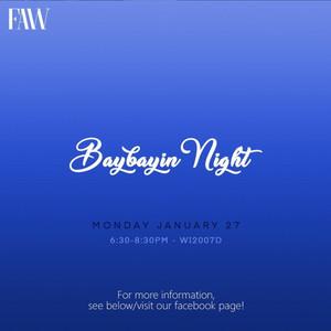 FAW: Baybayin Night
