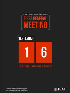 First General Meeting