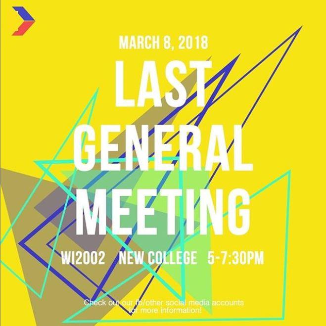 Last General Meeting