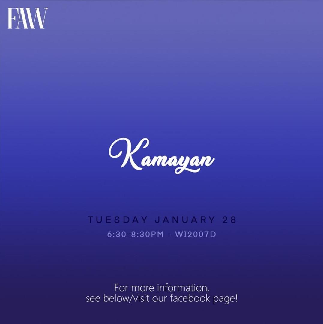 FAW: Kamayan Night