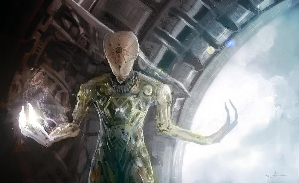 Форма инопланетного разума