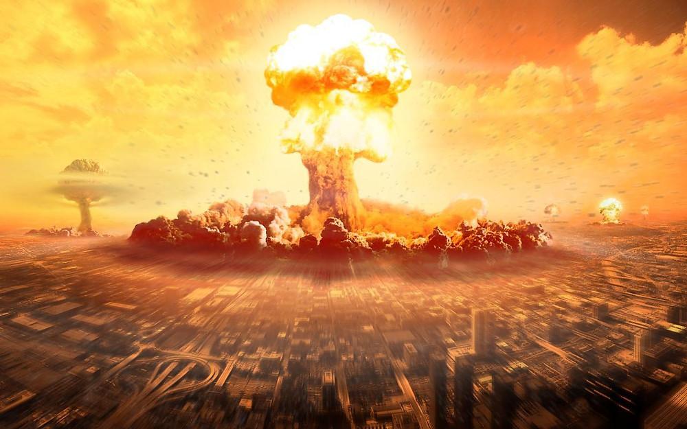 ядерный взрыв гриб