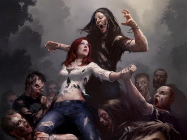 Зомби нападают толпами