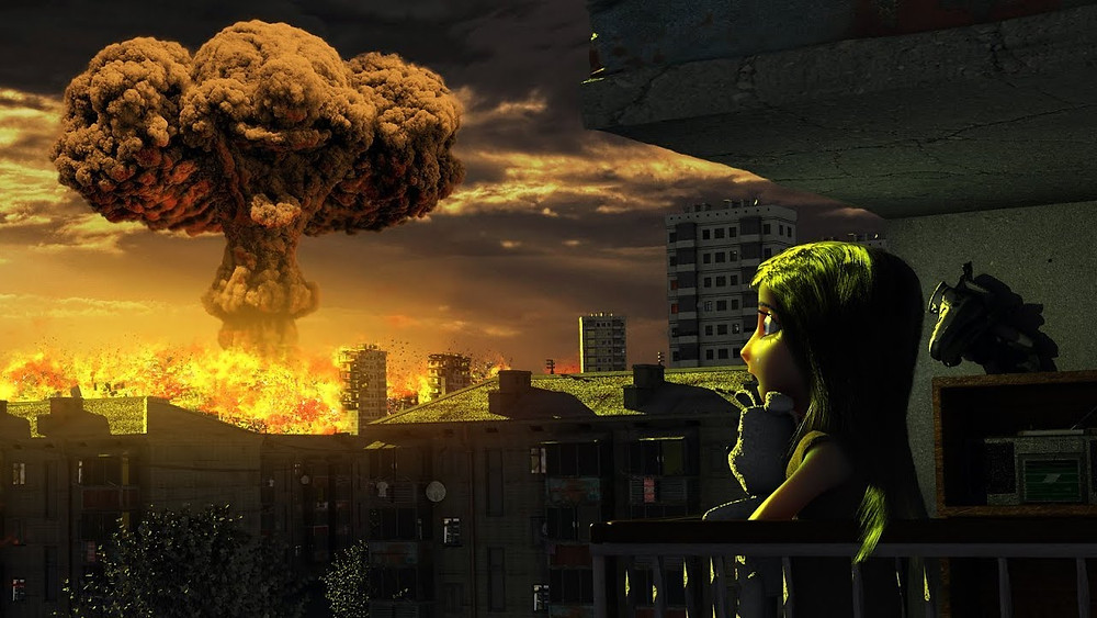ядерный взрыв арт