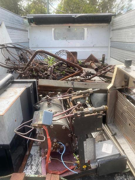 Scrap Metal Load